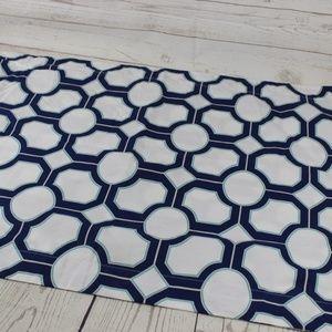 Pottery Barn Geometric Pillow Sham 36X20 Blue